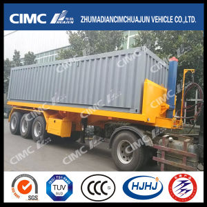 3axle Rear-Tipping Container Semi Traile pictures & photos