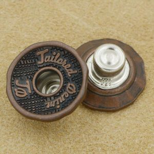 Copper Metal Jeans Button for Jeans Jackets pictures & photos