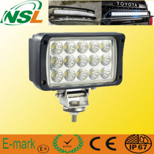 12V 24V High Efficiency LED Work Light, 45W LED Work Light off Road Driving pictures & photos