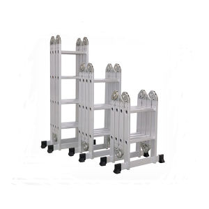 Aluminum Multi-Functional Ladder with 4*3 pictures & photos
