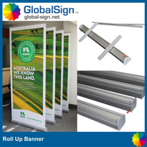 Promotional Retractable Pull up Roll up Banner Display Stand pictures & photos