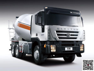 Genlyon 380HP 6X4 Concrete Mixer Truck for Nigeria pictures & photos