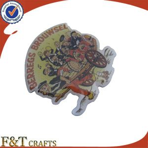 Personalized High Quality Cmyk Printing Logo Epoxy Metal Pin Badge (FTBD9101J) pictures & photos