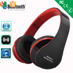 TF Aux Foldable Bluetooth Wireless Over Ear Headphones pictures & photos