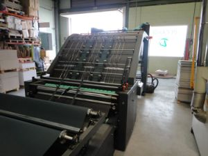 Corrugated Board and Card Board Machine Automatic Laminator for Sale pictures & photos