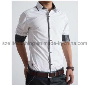 Bulk Men European Fashion Dress Shirts (ELTDSJ-91) pictures & photos
