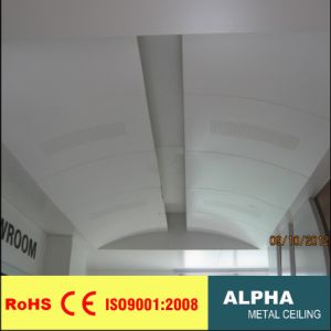 Aluminum Customed Aluminum Ceilings Indoor Exterior Solid Wide Panel pictures & photos