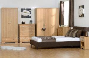Modern Apartment Bedroom Furniture Set (HF-EY033) pictures & photos