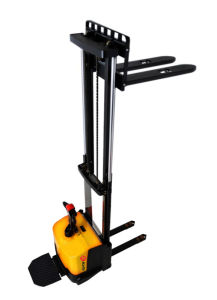 Full Free Lift Electric Stacker with Narrow Legs (CDD16-950) pictures & photos