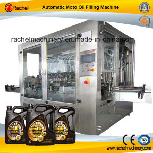Automatic Liner Moto Oil Filling Machine pictures & photos
