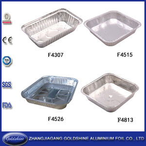 Disposable Aluminum Foil Plates for Restaurant Food Packaging pictures & photos