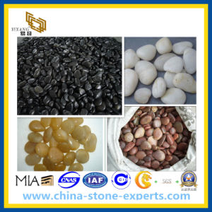 Natural Black/White/Yellow/Red River Pebble for Paving pictures & photos