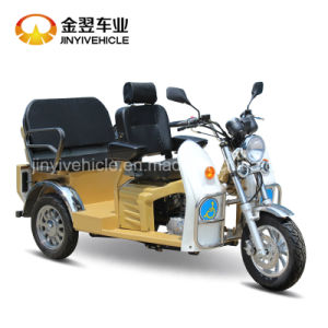 Color Customized Disabled Tricycle with Two Seats pictures & photos