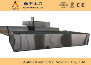 Ay2520u 50HP Stainless Steel CNC Waterjet Water Jet Cutter for Stone, Metal, Glass Cutting pictures & photos