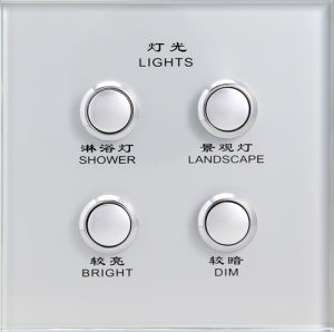 Touch Switch Panel Glass pictures & photos
