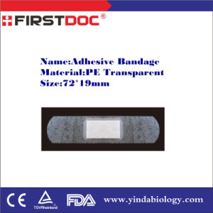 Adhesive Bandage, 72*19mm, PE Transparent pictures & photos