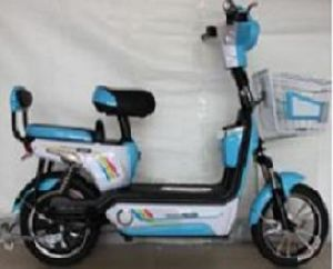 Good Range Simple Lead-Acid Battery Electric Bike (JUNM) pictures & photos