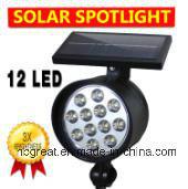 Outdoor plastic Solar Landcape Light pictures & photos