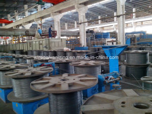 Galfan Galvanized Steel Wire Make Equipment pictures & photos