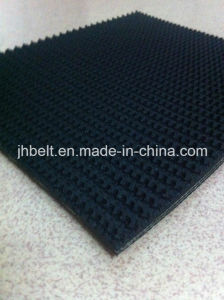 Rough Top Conveyor Belt Rubber Material Reinforced Ep Fabric