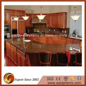 modern Design Tan Brown Granite Kitchen Countertop pictures & photos