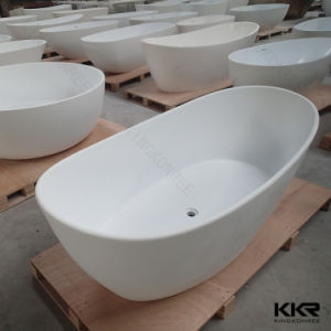 Oval Shape Stone Resin Freestanding Baths for Sale pictures & photos