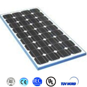 100W Mono Solar Panel for Solar System pictures & photos