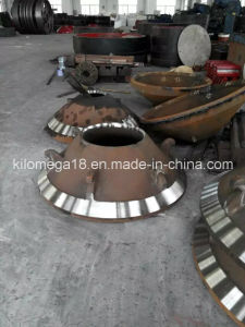 Hot Sale Cone Crusher Spare Parts Mantle and Concave pictures & photos