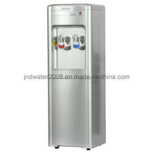 Floor Standing Hot and Cold Pipeline Water Cooler pictures & photos