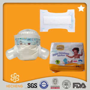 Economic Disposable Baby Diaper with PP Tape pictures & photos