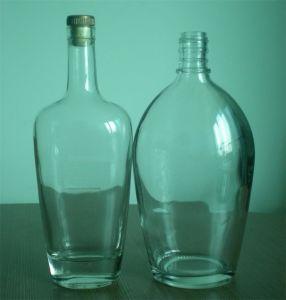 200ml/250ml/375ml Flint Flask Glass Bottle pictures & photos