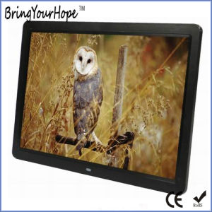 15 Inch Popular 16: 9 Digital Photo Frame (XH-DPF-150AL) pictures & photos