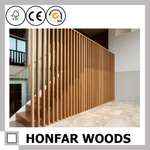 Custom Stair Railing Wood Fence pictures & photos