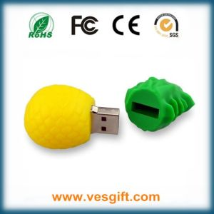 Top-Rated Gadget Pineapple PVC USB Pendrive pictures & photos