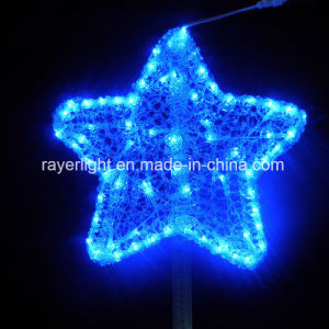 Starry Twinkle LED Star Lights Christmas Tree Toppers LED Christmas Lights pictures & photos