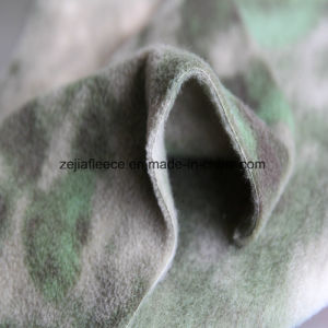 Camouflage Print Polar Fleece with Anitpilling pictures & photos