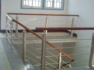 High Quality Stainless Steel Railing Inox Stair Handrail pictures & photos