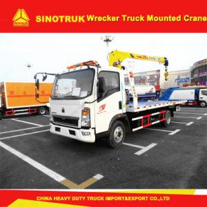 Sinotruk Light Duty 4X2 Wrecker Truck Mounted Crane pictures & photos