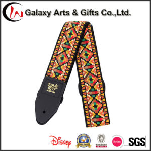 Bulk Custom Design Print Logo with Multicolor Electric Guitar Straps for Guitar Accessories pictures & photos