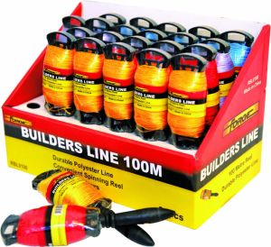 24PCS 100m Durable Braided PP Masons Line Builders Line for Construction pictures & photos