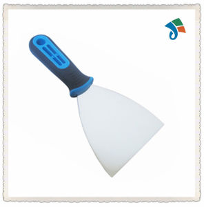 Soft TPR Handle Stainless Steel Blade Putty Knife Scraper pictures & photos
