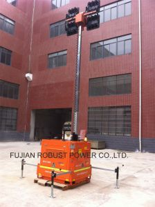 Kubota Heavy-Duty Trailer Mounted Movable LED Light Tower pictures & photos