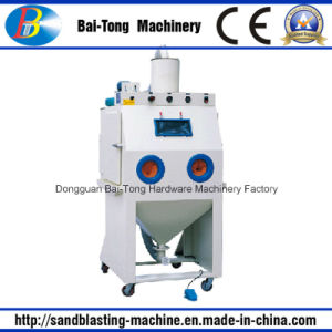 Manual Plastic Sandblasting Cabinet pictures & photos