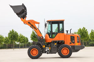Construction Machine Ce Approved Articulated 2 Ton Mini Small Wheel Loader with Rops&Fops Cabin pictures & photos