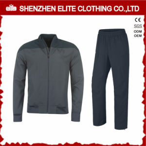 Fashion High Quality Grey Tracksuit Bomber Jacket and Pant (ELTTI-22) pictures & photos
