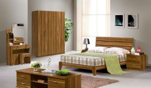 High Quality 1.5 M Bed Bedroom Bed for Suite pictures & photos