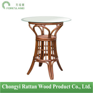 Round Rattan Table for Bar pictures & photos