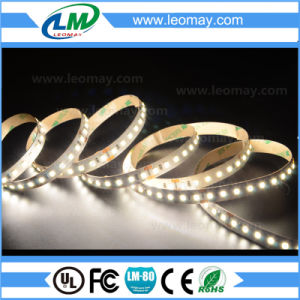 110-120LM/W 12V/24V White Mirror Light 2835 CRI80 90+ LED Flexible Strip with CE RoHS pictures & photos
