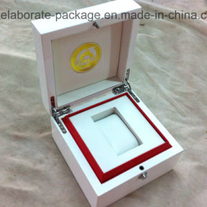 Customized Luxury Wooden White Glossy Watch Package Box Gift Box pictures & photos