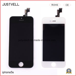 LCD Display for iPhone 5s Mobile Phone Digitizer Assembly Metal Frame pictures & photos